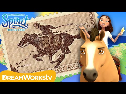 All About the Pony Express | SPIRIT COMES TO LIFE