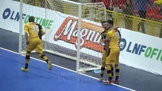 Partida válida pela Liga Nacional de Futsal 2017.