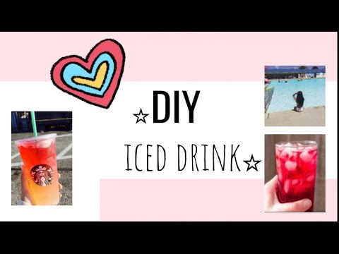 my fav DIY drink! Putting Starbucks out of business :)