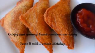 Quick and Simple Bread Samosa