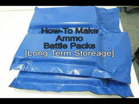 How to make your own ammo battle packs.