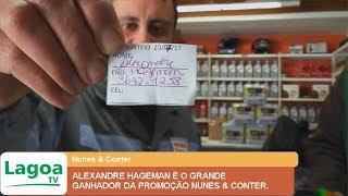 ALEXANDRE HAGEMAN É O GRANDE GANHADOR DA PROMOÇÃO NUNES & CONTER