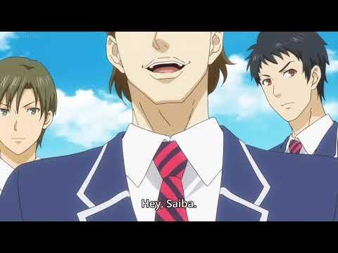 Saiba Joichiro vs 50 student in team battle - Food wars shokugeki no souma