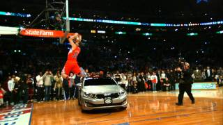 Take a moment to enjoy the the beauty of this slow motion shot as Blake Griffin jumps over a KIA car.