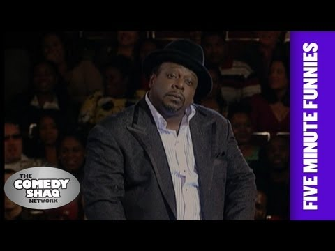 Cedric The Entertainer⎢Imagine if Barack Obama Had Boys⎢Shaq's Five Minute Funnies⎢Comedy Shaq