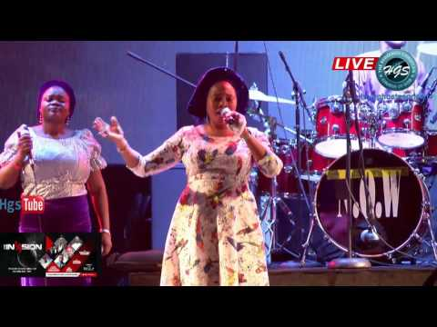 TOPE ALABI MINISTRATION RCCG INVASION CONCERT - EXCEL 2017