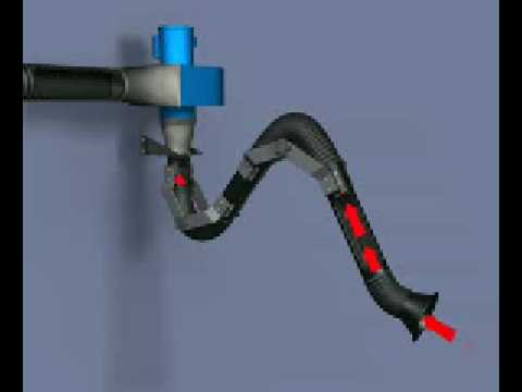 Airflow Systems EZ-Arm II Collection Arm
