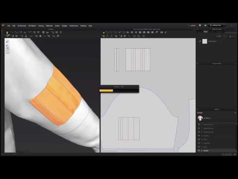 Level 2-1 Padded Jacket_ 6 Make a sleeve pocket (видео)