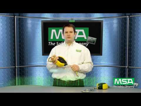 MSA Workman Cable Personal Fall Limiter (PFL)