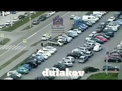 Карамзина 14 08.08.2018 ЧП Красноярск - DomaVideo.Ru