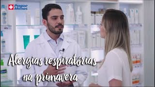 Momento Clinic Farma - Alergias respiratórias na primavera - by Farmácias Pague Menos