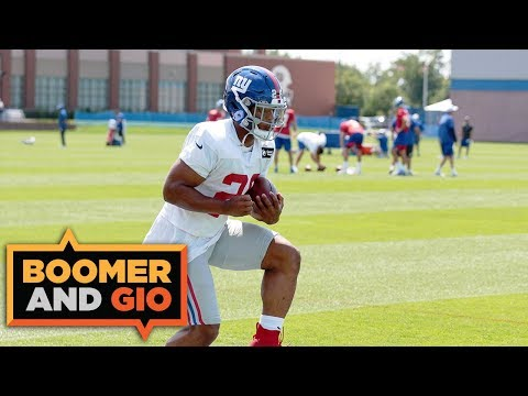 Video: Saquon Barkley is SAD the Giants traded Odell Beckham   Boomer & Gio