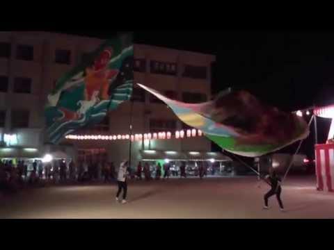 紀州フラフ隊 和歌浦小学校夏祭り2015(2日目)