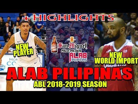 ALAB PILIPINAS | MGA BAGONG PLAYER + HIGHLIGHTS | OCTOBER 01, 2018