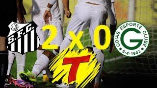 Confiram os gols de Santos 2 x 0 Goiás narrados pela Rádio Transamérica de São Paulo, narrado por Oswaldo Maciel.