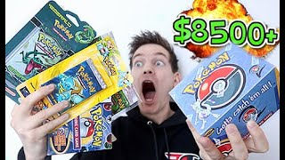 *NOT CLICKBAIT* $8500+ POKÉMON MYSTERY BOX (PART 2) by Unlisted Leaf