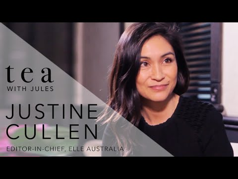 Tea with Jules - Justine Cullen - Editor-in-Chief of ELLE Magazine chats to Jules Sebastian