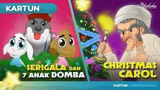Video SERIGALA DAN TUJUH ANAK DOMBA + A CHRISTMAS CAROL cerita anak anak animasi kartun MP3, 3GP, MP4, WEBM, AVI, FLV Oktober 2018