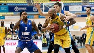 Ойын шолу ВТБ Бірыңғай лигасы: «Астана»— «Зенит»