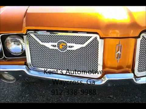 Pagan Gold 1972 Oldsmobile Cutlass Supreme on 24 inch Forgiato's (Kent's Automotive)