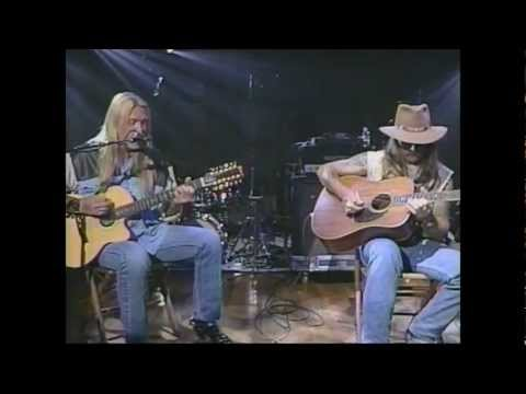 Allman Brothers Blues Band – Melissa – Acoustic – Live Music – Video