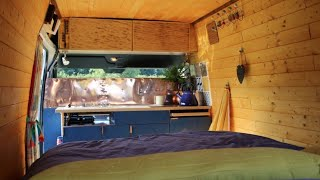 Beautiful Bohemian SURF VAN ON A BUDGET 🏄 Built From RECLAIMED MATERIALS ♻️ by Nate Murphy