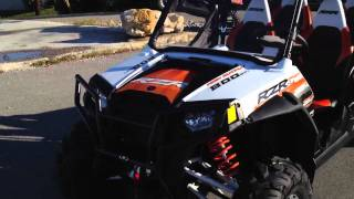 7. 2012 Polaris RZR 4 800 Orange Madness Robbie Gordon with Accessories!