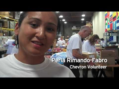 chevron volunteering at MedShare - human energy at work (MedShare channel)