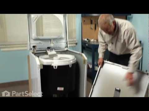 Washing Machine Repair- Replacing the Water Pump (Whirlpool Part # 35
