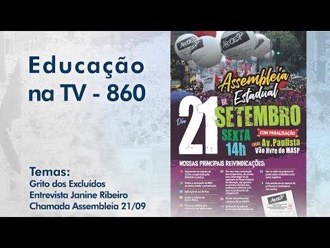 Grito dos Excluídos / Entrevista Janine Ribeiro / Chamada Assembleia 21/09