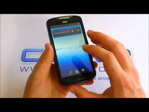 handset - A hands on with a pre-production model of the ZTE Skate; an Android handset with a 4.3