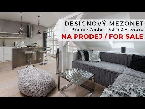 Video Prodej mezonetového bytu 3+kk s terasou, 110 m2