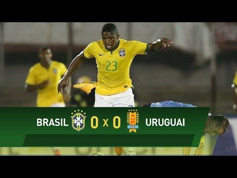Sub-20: Brasil e Uruguai empatam pelo Sul-Americano