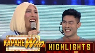 Video Vice Ganda corrects Ion from his out of tune singing | It's Showtime KapareWHO MP3, 3GP, MP4, WEBM, AVI, FLV Agustus 2019