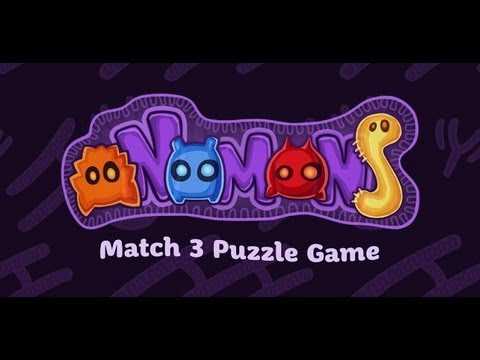 Video of oNomons - Match 3 Puzzle Game
