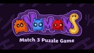 oNomons - Match 3 Puzzle Game YouTube video