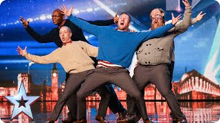 Video Old Men Grooving bust a move, and maybe their backs! | Britain's Got Talent 2015 MP3, 3GP, MP4, WEBM, AVI, FLV Agustus 2018