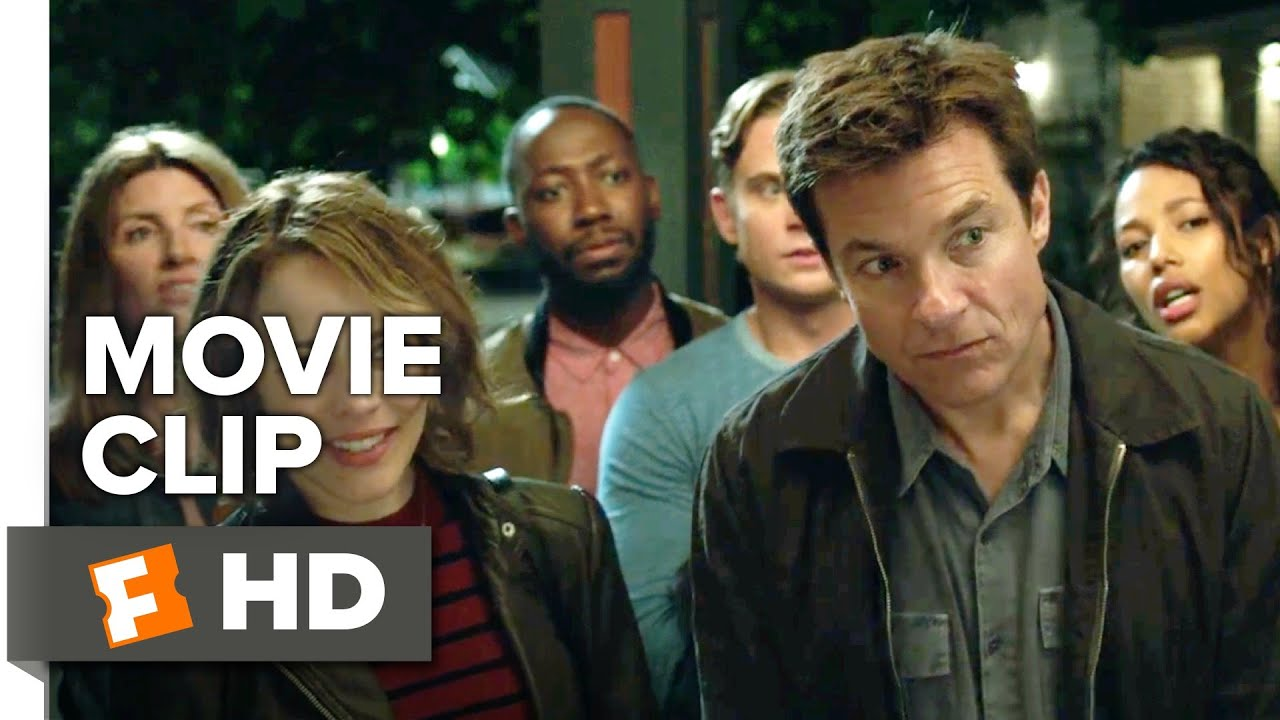 This is Not a Game. Watch Jason Bateman & Rachel McAdams in Action-Comedy Murder-Mystery 'Game Night' (Clip) with Jeffrey Wright