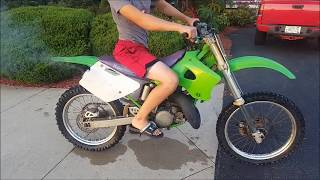 10. My First Ever Kawasaki Kx 125!!!