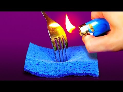 32 INSANELY CLEVER HACKS WITH EVERYDAY HOUSEHOLD ITEMS (видео)