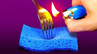Video 32 INSANELY CLEVER HACKS WITH EVERYDAY HOUSEHOLD ITEMS MP3, 3GP, MP4, WEBM, AVI, FLV Maret 2018