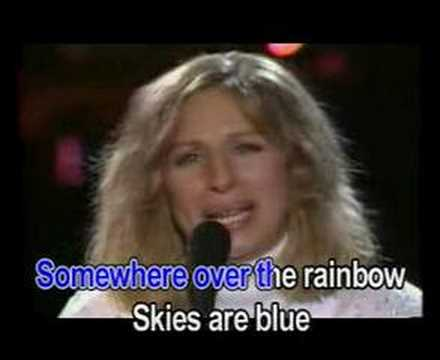 , title : 'Over the rainbow - Barbra Streisand (Karaoke)'