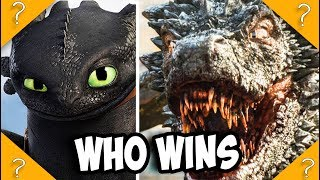 Video Toothless vs Drogon MP3, 3GP, MP4, WEBM, AVI, FLV September 2018