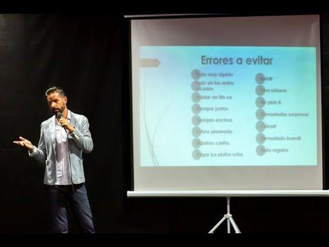 Presentación del libro ASÍ NO, ERRORES AL CONOCER A ALGUIEN -Juan Bustamante López