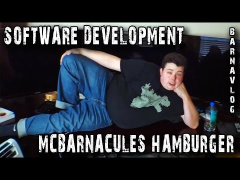 Software - My best friend Greg helps me setup my developer environment under OS X & we design a signature hamburger (McBarnacules). We also stress test his desk live on PimpMySetup Episode Episode 45...