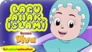 Lagu Anak Islami Bersama Diva Kompilasi Cinta Allah | Kastari Animation Official