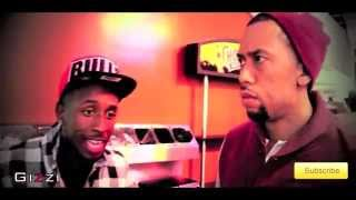 2014 Gizzi Rappin To Comedian/Actor @AffionCrockett and NBA's Allstar @MettaWorldPeace (FULL)