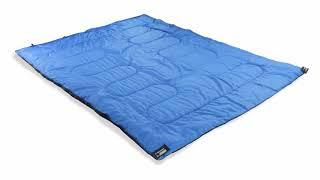 Двойной спальник-одеяло для кемпинга. High Peak Ceduna Duo