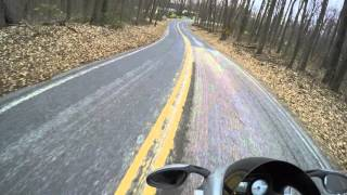 10. NYDucati: Tigho Ducati ST3 on Rural PA Backroads