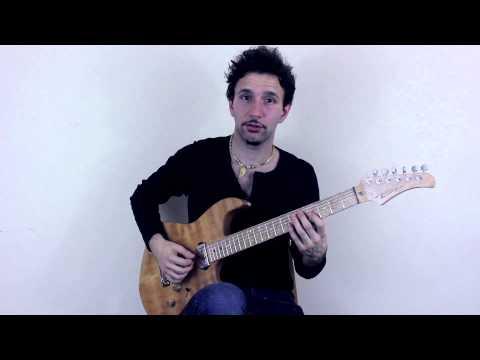 Rhythm Guitar Lesson on R&B Riff – Learn to Play R&B Guitar Riffs